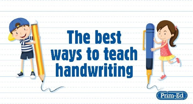The best ways to teach handwriting