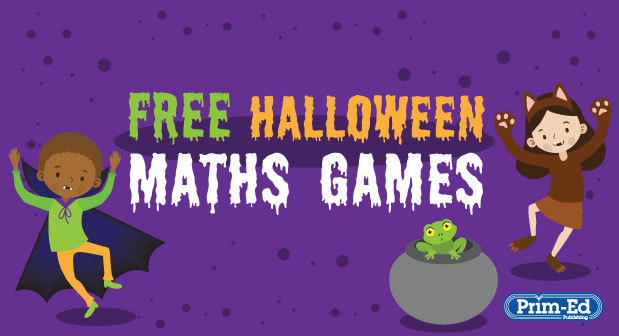 Halloween Maths Games Freebie