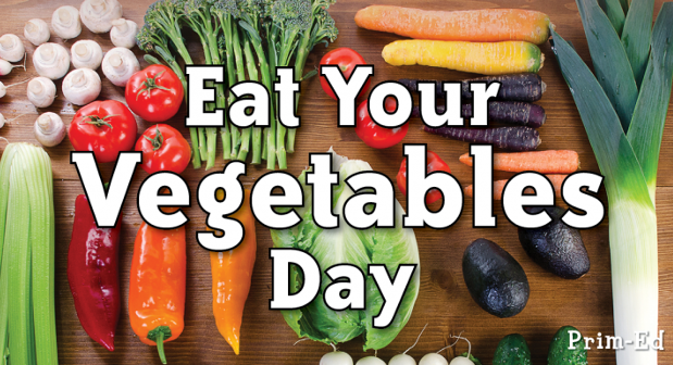 National Eat Your Veggies Day