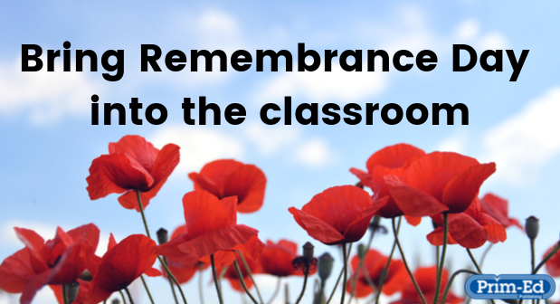 Bring Remembrance Day into the classroom