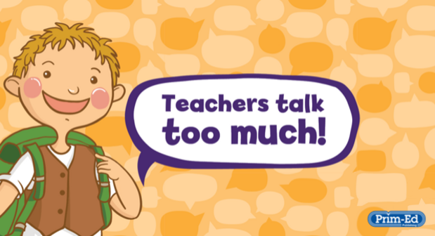 How to increase your pupils' talking time