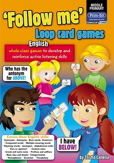 Follow Me! Loop Card Games - English Upper Primary
